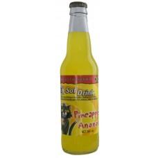 DG Pineapple Soda Bottle