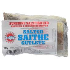 Sunshine Salted Saithe Cutlets 200g