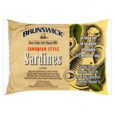 Brunswick Sardines in Soya Oil