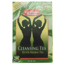 Caribbean Dreams Cleansing Detox Herbal Tea